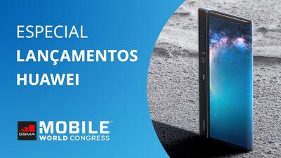 """Huawei Mate X, o dobrável """"mais fino do mundo"""" [MWC 2019]"""