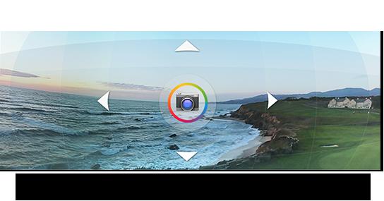 Fotos panorâmicas Android 4.2
