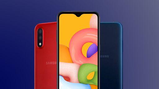 Samsung anuncia chegada do basicão Galaxy A01 por R$ 1.100 no Brasil