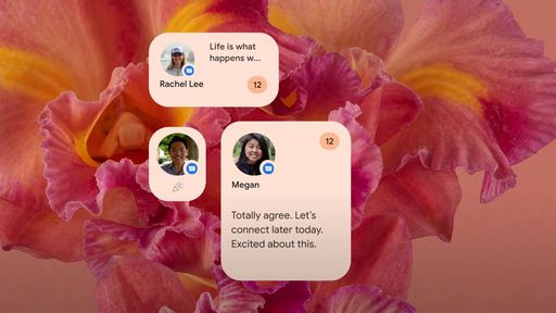 Veja como é o widget de previsão de tempo com visual Material You do Android 12