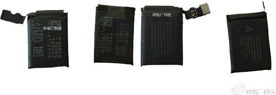 bateria Apple Watch 2