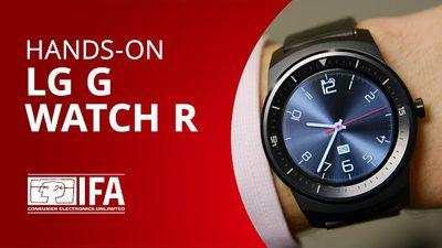 Conheça o LG G Watch R, o smartwatch bonitão da LG [Hands-on   IFA 2014]