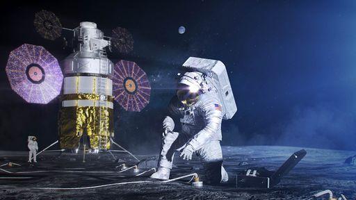 NASA seleciona projetos de estudantes para explorar os polos da Lua até 2023
