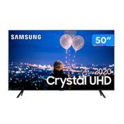 "Smart TV Crystal UHD 4K LED 50"" Samsung - 50TU8000 Wi-Fi Bluetooth HDR 3 HDMI 2 USB [À VISTA]"
