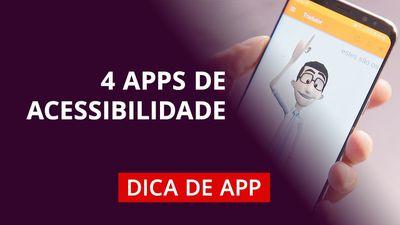 Aplicativos de acessibilidade para Android e iOS
