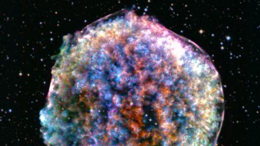 NASA divulga nova imagem da supernova Tycho — ou o que sobrou dela