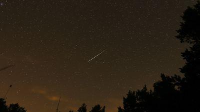 Chuva de meteoros Orionidas atinge seu pico neste fim de semana