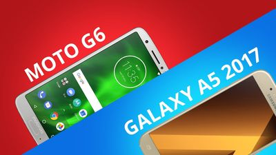 Comparativo | Moto G6 vs Galaxy A5 2017