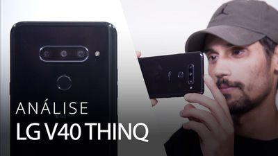 LG V40 ThinQ: cinco câmeras e um propósito vago [Análise / Review]