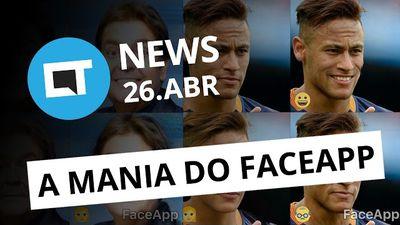 """Nova mania FaceApp; """"Netflix"""" da Warner; Twitter ao vivo 24 horas/dia e + [CTNews]"""