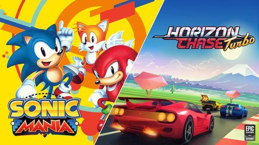 Sonic Mania e Horizon Chase Turbo estão gratuitos na Epic Games Store