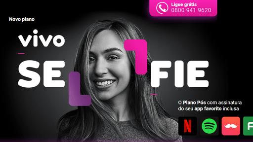 Vivo Selfie: nova versão do plano passa a integrar o Telecine