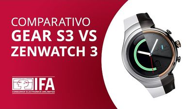 Samsung Gear S3 vs Zenwatch 3: o duelo dos smartwatches [Comparativo - IFA 2016]