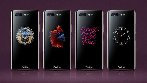 Este é o Nubia X, smartphone com tela dupla e dois leitores de digitais