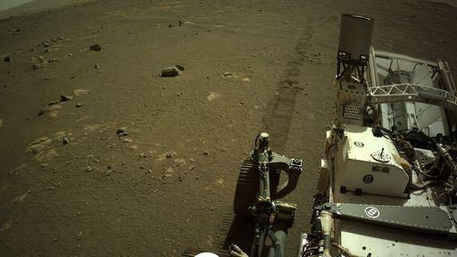 Ouça o primeiro áudio do Perseverance se deslocando na superfície de Marte