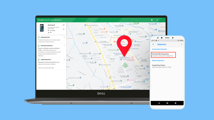 Rastrear con GPS y Android Device Manager