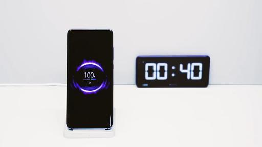 Carregador sem fio da Xiaomi carrega 100% da bateria em 40 minutos. Veja