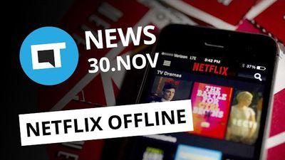 Netflix libera download de filmes; Correios anunciam fim do e-Sedex e + [CT News]