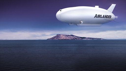 Conheça o Airlander 10, a maior aeronave do mundo