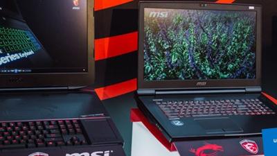 MSI apresenta nova linha de notebooks gamers com suporte à realidade virtual