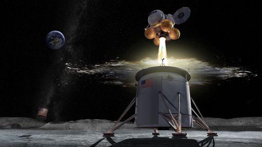 """NASA decide interromper projeto do lander lunar graças à """"treta"""" da Blue Origin"""
