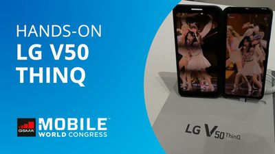 LG V50 ThinQ: smartphone dobrável com tela destacável [Hands-on]