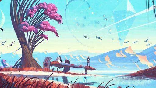 Jogadores visitam o mesmo planeta em No Man's Sky e acabam com rumor multiplayer