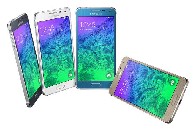 Galaxy Alpha chegará às prateleiras em até 4 cores diferentes: grafite, prata, azul e dourada