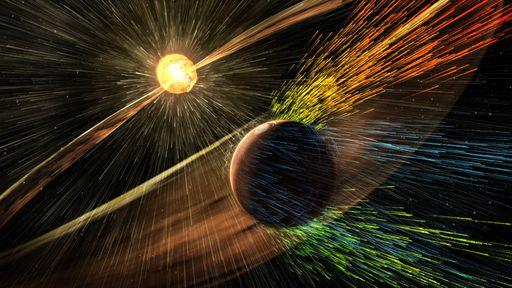 Sonda da NASA detecta campo magnético 10 vezes mais forte em rochas de Marte