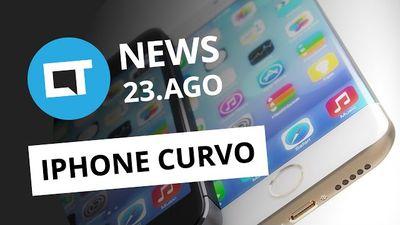 iPhone curvo, 25 anos de WWW, OVNIs na rede, preparativos de GoT [CTNews]