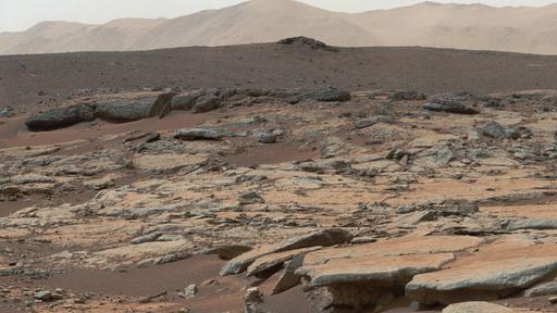 Dados do rover Curiosity podem indicar um passado diferente para a cratera Gale