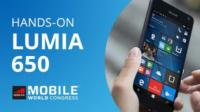 Lumia 650: o Windows Phone básico com acabamento premium [Hands-on | MWC 2016]