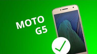 5 motivos para você COMPRAR o Moto G5
