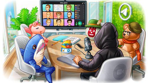 Telegram ganha videochamadas em grupo e papéis de parede animados