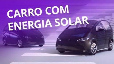 Carro movido a energia solar [CT Inovação]