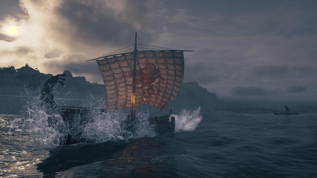 O Adrestia é peça fundamental na exploração do mapa de Assassin's Creed Odyssey, estando disponível a todo instante e não apenas em missões