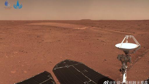 Veja novas fotos de Marte tiradas pelo rover Zhurong