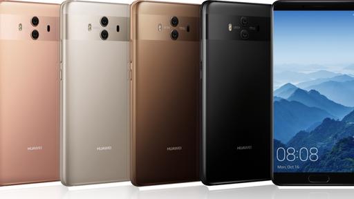 Câmeras do Huawei Mate 10 e Mate 10 Pro contam com inteligência artificial
