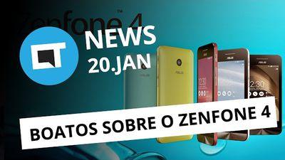 Boatos sobre o Zenfone 4, informações oficiais sobre o Galaxy S8 e + [CTNews]