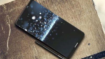 Fotos de suposto protótipo do Samsung Galaxy Note 8 surgem na web
