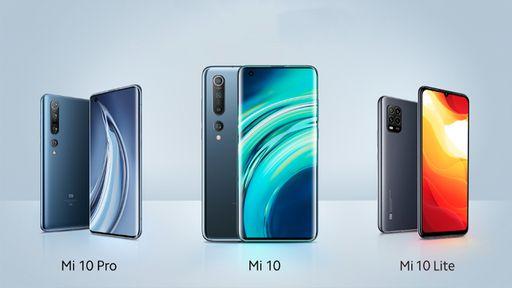 Xiaomi apresenta Mi 10, Mi 10 Pro e inédito Mi 10 Lite 5G a preços arrasadores