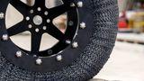 NASA reinventa pneus e cria tecnologia a prova de furos