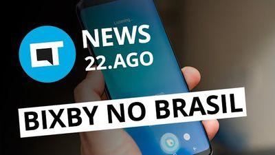 Tela trincada abre brecha para hackers; Bixby chega ao Brasil e + [CT News]