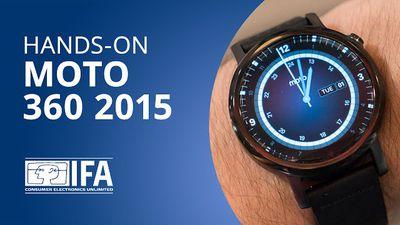 Moto 360 2015 (2ª geração) [Hands-on | IFA 2015]