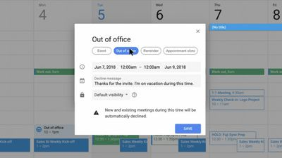 "Google Agenda ganha resposta automática ""Out of office"""