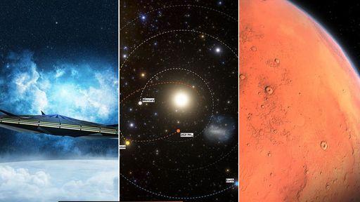 O céu (não) é o limite   Nave de 1 km, asteroide recordista em velocidade e mais