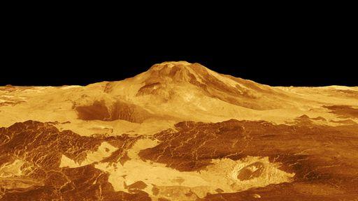 """Vênus ainda é geologicamente ativo e tem pelo menos 37 vulcões """"vivos"""""""