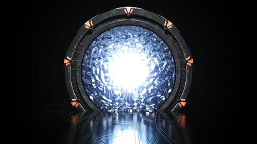 Réplica do portal de Stargate em tamanho real é feita com impressora 3D