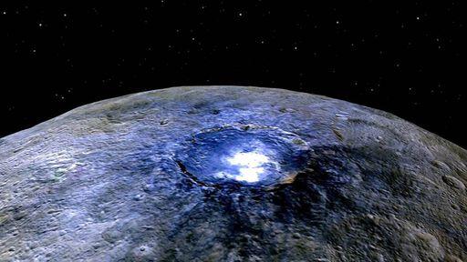 Planeta anão Ceres é geologicamente ativo e pode ter água abaixo da superfície