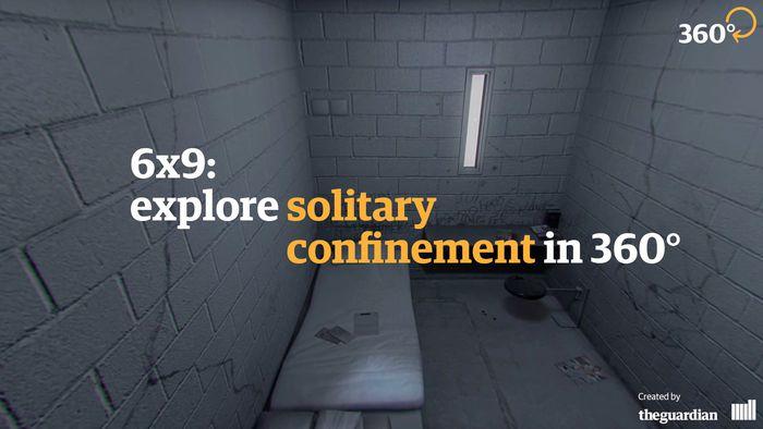 Como a realidade virtual levará você para uma cela de confinamento solitário